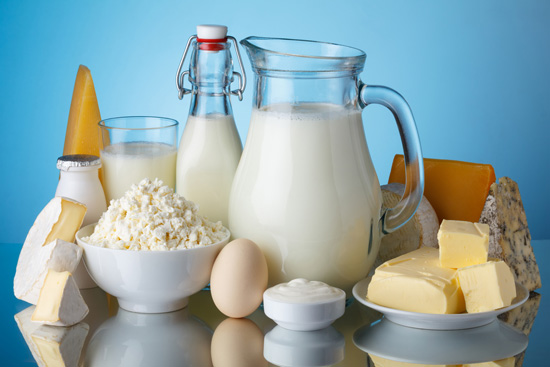 dairy products containing calcium