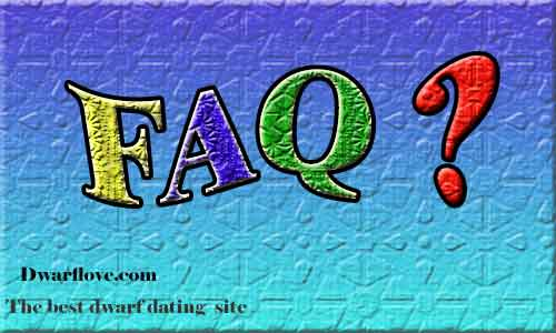 FAQ page answer your questions about dwarf dating site and little people dating services